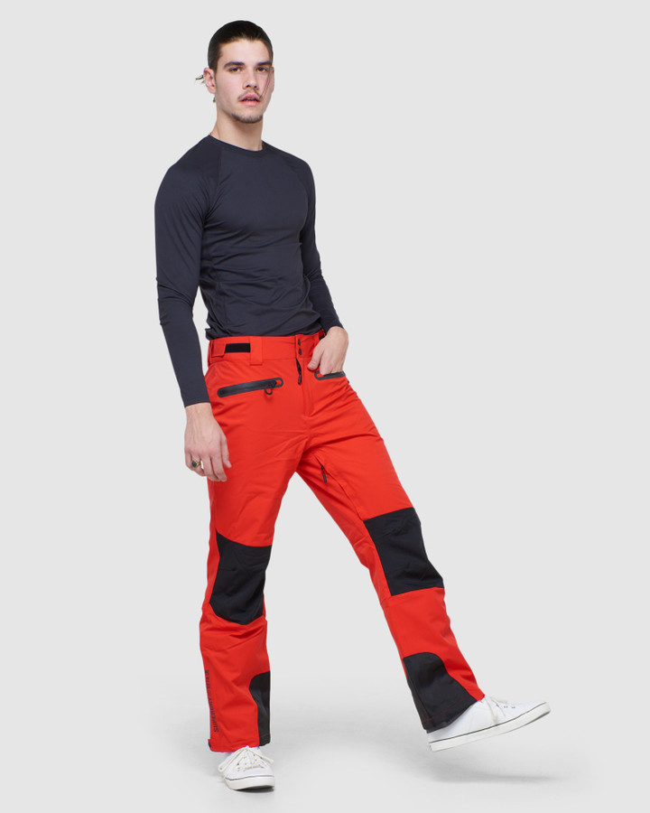 Superdry 4 X Way Stretch Pant Apple Red