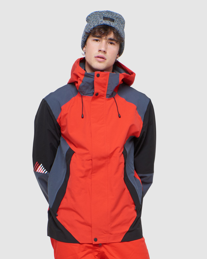Superdry Clean Pro Shell Jacket Apple Red