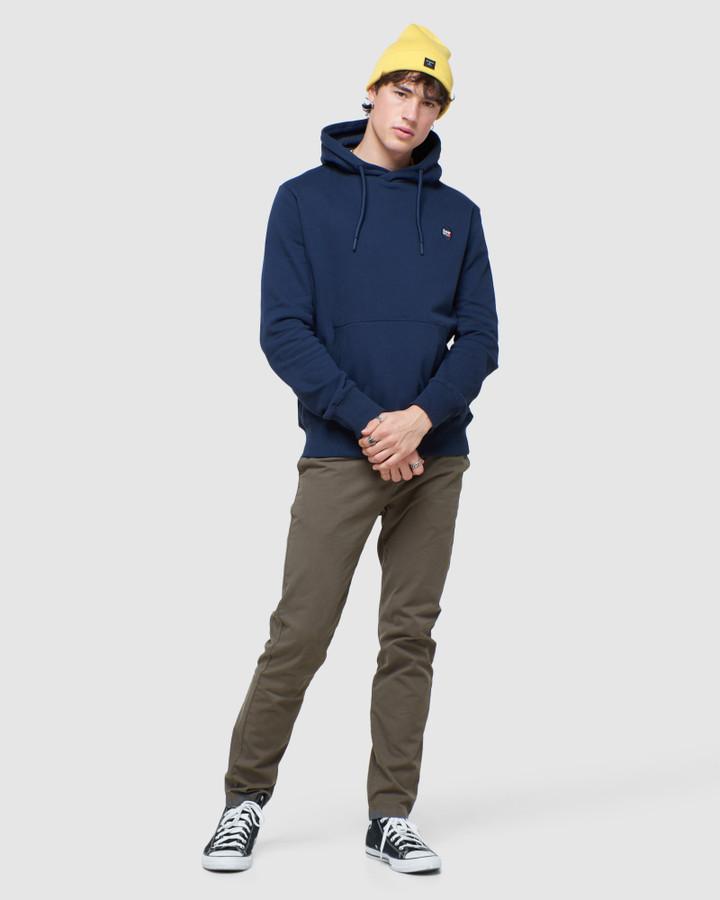 Superdry Collective Hood Nautical Navy