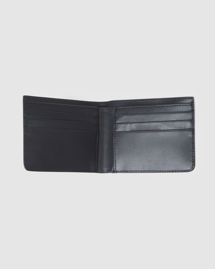 Superdry Nyc Bifold Leather Wallet Black