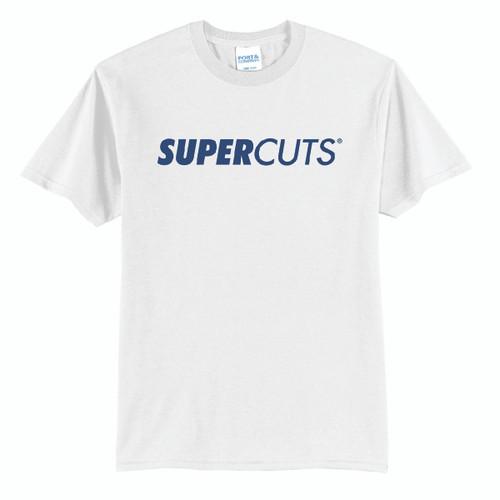 White 50/50 Blend T-shirt  (Minimum Order Quantity 1)