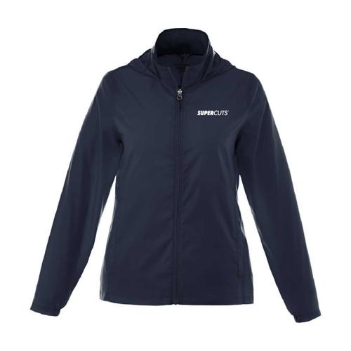 Ladies' Packable Lightweight Jacket - Navy (Minimum Order Qty 6)