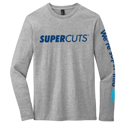 District® Very Important Tee® Long Sleeve - Light Heather Grey (Minimum Order Qty 12)