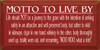 Motto To Live By: Life Should Not Be A Journey.. |Cigar & Whiskey Wood Sign| Sawdust City Wood Signs