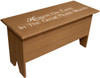 """Rustic Knotty Pine Bench 