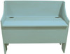 Rustic Storage Bench   Sawdust City LLC Boot Bench   In Old Sea Blue