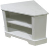 Home Decor and Storage  | Corner Bench with Storage | In Solid Cottage White