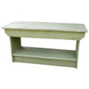 Retail Coffee Table/Bench | Solid Pine Bench Retail | In Old Sage
