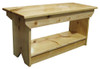 Retail Coffee Table/Bench | Solid Pine Bench Retail | In Poly Coating