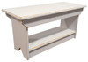 Retail Coffee Table/Bench | Solid Pine Bench Retail | In Old Cottage White