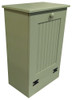 Small Wood Tilt-Out Trash Bin   Pine Furniture Made in the USA   Sawdust City Trash Bin in Solid Sage