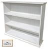 Small Hallway Bookcase | 3-Shelf Hall Bookcase  |  Sawdust City Bookshelf in Old Cottage White