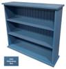 Small Hallway Bookcase | 3-Shelf Hall Bookcase  |  Sawdust City Bookshelf in Solid Williamsburg Blue