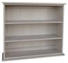 Small Hallway Bookcase | 3-Shelf Hall Bookcase  |  Sawdust City Bookshelf in Old Putty