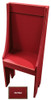 Small Primitive Chair - Shown in Old Red