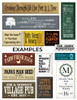 Custom Wood Sign Design Examples | Many Sizes & Colors! | Sawdust City Signs