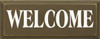 Welcome (small)   Welcoming Wood Sign   Sawdust City Wood Signs