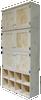 CUSTOM - Unfinished Cabinets & Cubbies   Custom Pine Cabinet   Sawdust City Custom Furniture