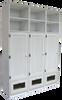 CUSTOM - Wide Lockers with Doors   Custom Pine Lockers   Sawdust City Custom Furniture