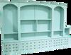 CUSTOM - Display Unit with Multi-Look Drawers | Custom Pine Furniture | Sawdust City Custom Furniture