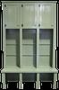 CUSTOM - 3-Locker & Bench Combo | Custom Pine Locker Bench | Sawdust City Custom Furniture