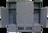 CUSTOM - Large Cabinet Setup | Custom Large Pine Cabinets | Sawdust City Custom Furniture