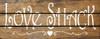 Walnut Stain & Cottage White
