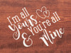I'm all yours & you are all mine   Sawdust City Wood Signs