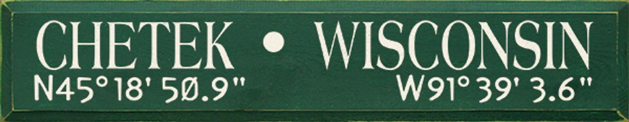 City Name with custom Latitude & Longitude Coordinates