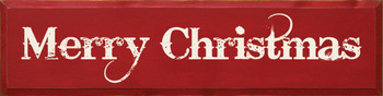 Merry Christmas (large rough)|Seasonal Wood Sign| Sawdust City Wood Signs