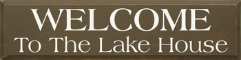 Welcome to the Lake House |Lake Wood Sign| Sawdust City Wood Signs