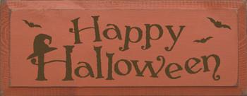 Happy Halloween |Seasonal Wood Sign| Sawdust City Wood Signs