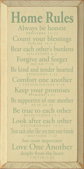 Wooden Signs - Spiritual Signs & Inspirational Signs - Bible