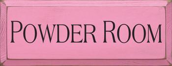 Powder Room |Bathroom Wood Sign | Sawdust City Wood Signs
