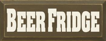 Beer Fridge|Beer Wood Sign| Sawdust City Wood Signs