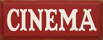 Cinema  Movies Wood Sign  Sawdust City Wood Signs
