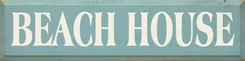 Beach House | Summer Wood Sign  | Sawdust City Wood Signs