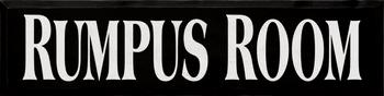 Rumpus Room  | Playroom Wood Sign | Sawdust City Wood Signs