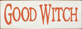 Shown in Old Cottage White with Burnt Orange lettering