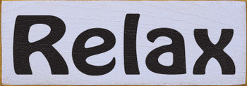 Shown in Old Lavender with Black lettering