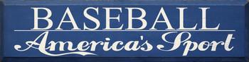 Baseball.. | Wood Sign.. America's Sport  | Sawdust City Wood Signs