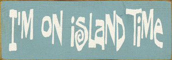 Shown in Old Sea Blue with Cream lettering