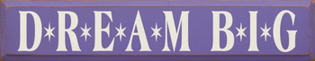 Shown in Old Purple with Cream lettering