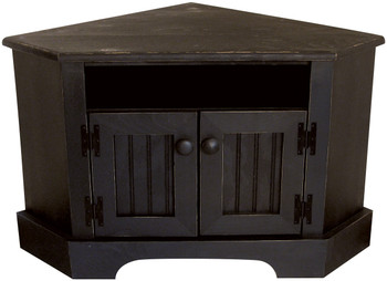 Shown in Old Black with Beadboard doors