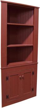 Corner Kitchen Hutch - Solid Pine  | Pine Kitchen Furniture | Sawdust City Pine Furniture
