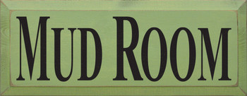 Mud Room (small)  | Simple Entryway Wood Sign| Sawdust City Wood Signs