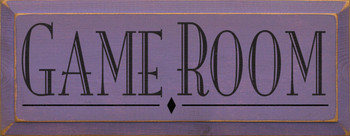 Shown in Old Purple with Black lettering