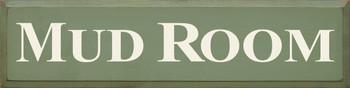 Mud Room |Entryway Wood Sign | Sawdust City Wood Signs