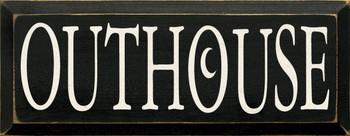 Outhouse |Camping  Wood Sign| Sawdust City Wood Signs
