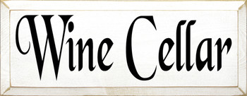 Wine Cellar | Wood Sign With Wine| Sawdust City Wood Signs